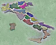 italia divisa in regioni